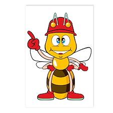 Worker Bee Postcards (Package of 8)