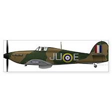 Hawker Hurricane Car Sticker
