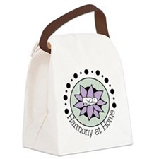 Harmony at Home  Canvas Lunch Bag