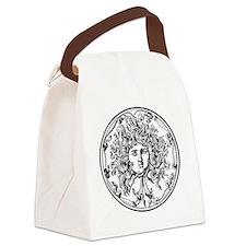 Medusa Canvas Lunch Bag