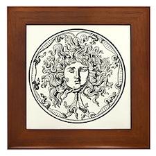 Medusa Framed Tile