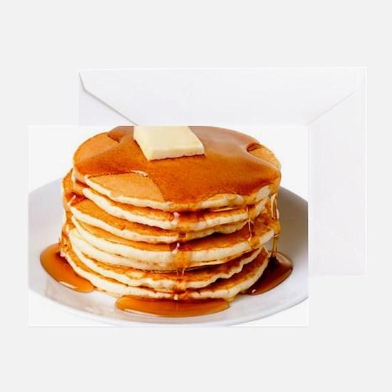 Pancakes Greeting Card