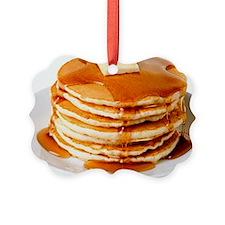 Pancakes Picture Ornament