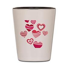 Valentine Shot Glass