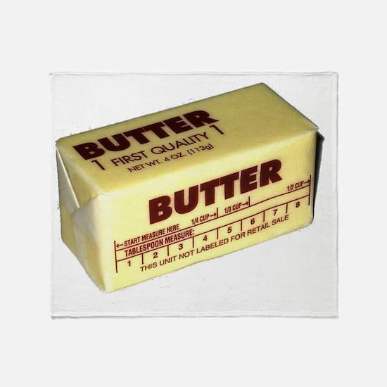 Butter Throw Blanket