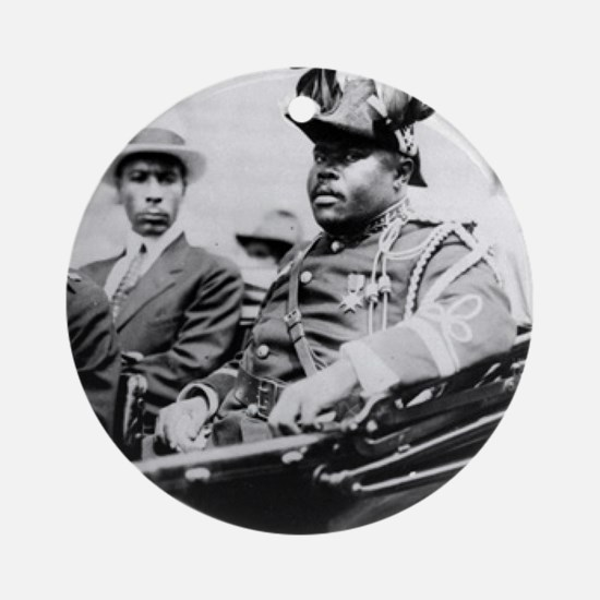 Marcus Garvey Round Ornament