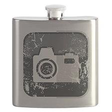 Kamera-Symbol (used look) Flask