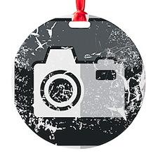 Kamera-Symbol (used look) Ornament