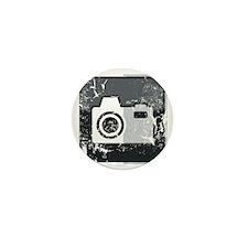 Kamera-Symbol (used look) Mini Button