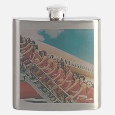 Flight Attendants Flask