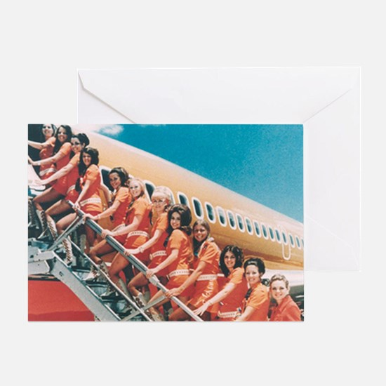 Flight Attendants Greeting Card