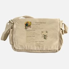 Mysteries of the Rosary Large Messenger Bag