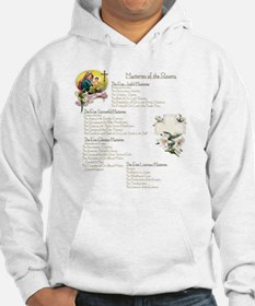 Mysteries of the Rosary Large Hoodie