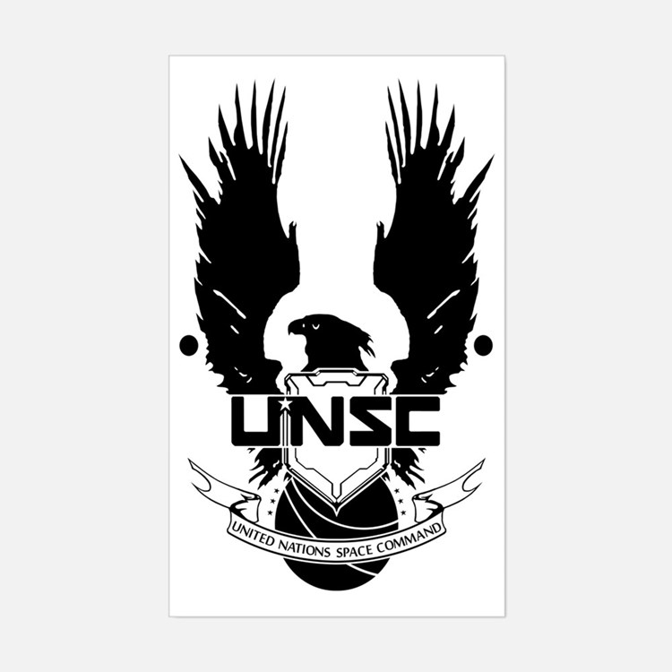 unsc Sticker (Rectangle)