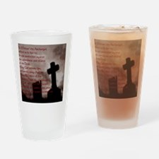 Saint Michael the Archangel Gothic  Drinking Glass