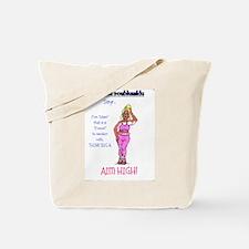 debbie pink Tote Bag
