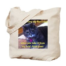 You can have my Purr-cocet Tote Bag