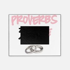 Proverbs 31 Wife Pink Picture Frame