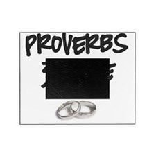 Proverbs 31 Wife Black Picture Frame
