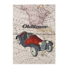 Old Timer On Tour 5'x7'Area Rug