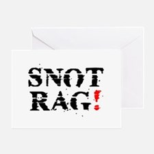 SNOT RAG! Greeting Card