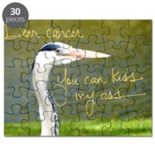 Dear Cancer, You can kiss my ass Puzzle