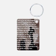 Apostles Creed with Gothic Keychains