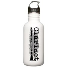 Clarinet Vertical Water Bottle