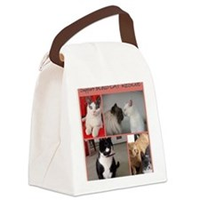 Group of Kitties 2 Canvas Lunch Bag
