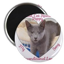 Poppy Unconditional Love Magnet