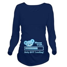 Baby BOY Loading (cute bear design) Long Sleeve Ma