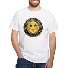 PLATE-SunFace-Black-rev Shirt