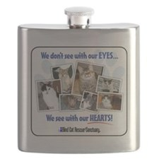 We see with our hearts Flask