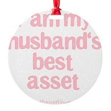 Best Asset Pink Ornament