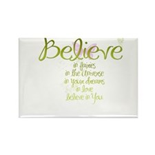 Believe in Everything Rectangle Magnet