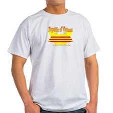 The Vietnamese-american flag ribbon T-Shirt