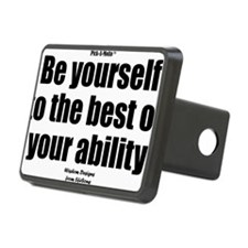 Be Yourself Sign Hitch Cover