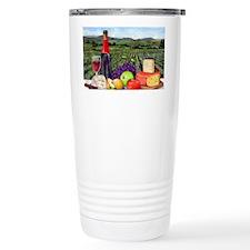 Wine  Cheese landscape Travel Mug