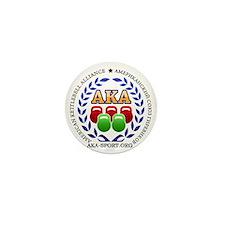 American Kettlebell Alliance Mini Button