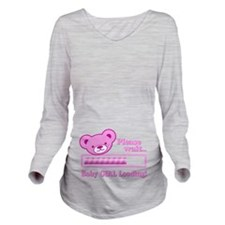 Baby GIRL Loading (cute bear design) Long Sleeve M