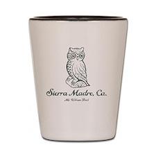Sierra Madre Owl Shot Glass