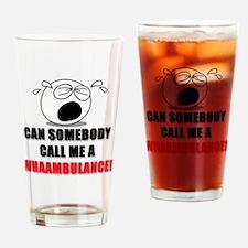WHAAMBULANCE Baby Shirt Drinking Glass