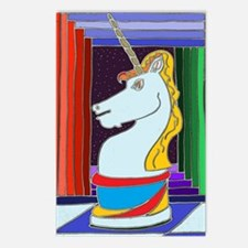 Unicorn Knight Postcards (Package of 8)