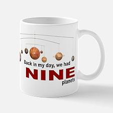 Nine planets Mug