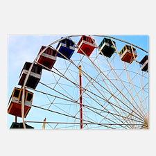 Big Wheel Ferris Wheel Se Postcards (Package of 8)