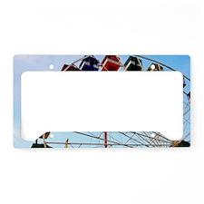 Big Wheel Ferris Wheel Seasid License Plate Holder