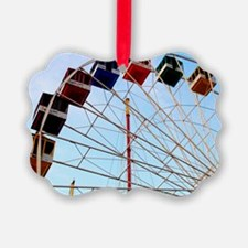 Big Wheel Ferris Wheel Seaside He Ornament