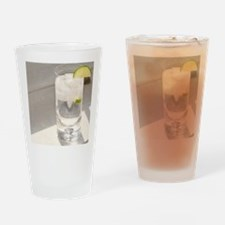 vodka tonic cropped Drinking Glass