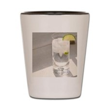 vodka tonic cropped Shot Glass