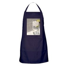 vodka tonic cropped Apron (dark)